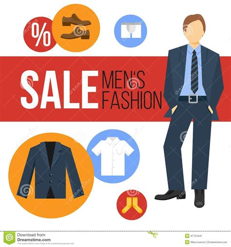 fashion clothes sale stock vector image 47721041