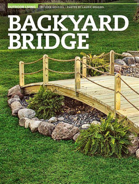 backyard bridge designs backyard bridge ideas backyard design backyard ideas