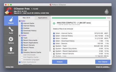 ccleaner mac ccleaner for mac is it as good as the windows version