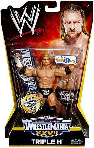 h figure toys r us wrestlemania 27 h exclusive