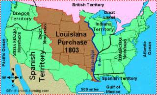 louisiana purchase map key louisiana purchase timeline timetoast timelines
