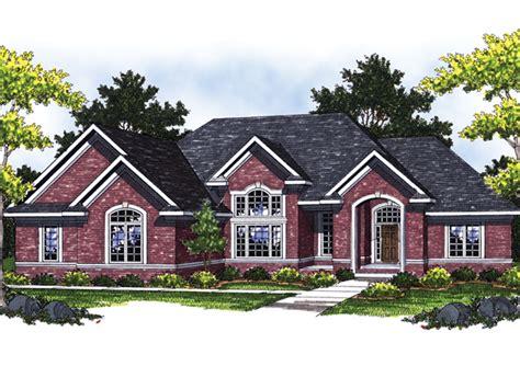 ranch brick house plans house design ideas
