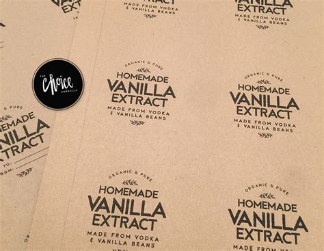 free download friday homemade vanilla and free labels