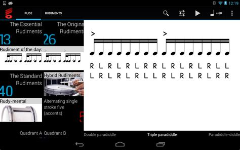 real drum tutorial rude rude practice pad play drums android apps on google play