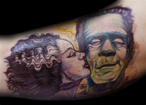 frankenstein tattoo frankenstein on