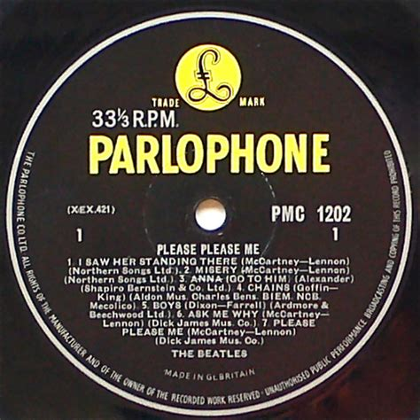 4 the beatles me the beatles 1963 4th pressing me lp