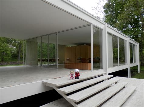 Farnsworth House by Farnsworth House Pufflesandhoneyadventures