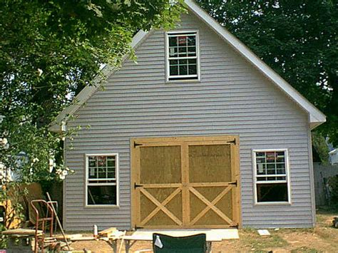 barn plans with loft 20 x 20 garage plan with loft construction pictures sds plans