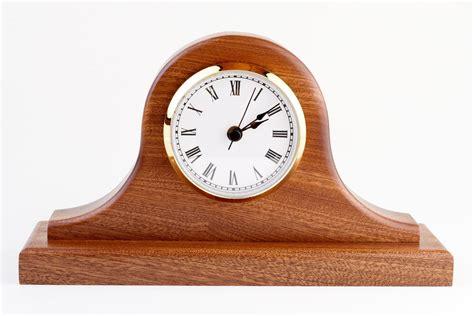 building  tambour clock sapele wood tambour mantle clock