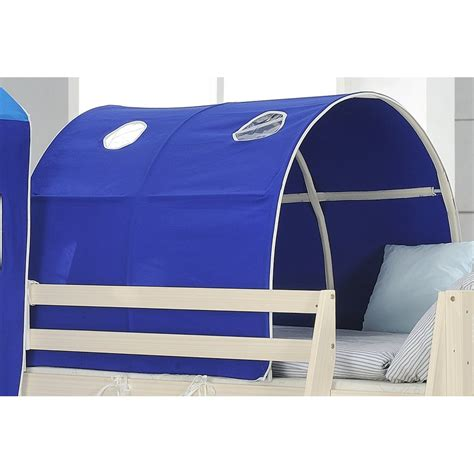 blue tunnel for mid sleeper cabin bed