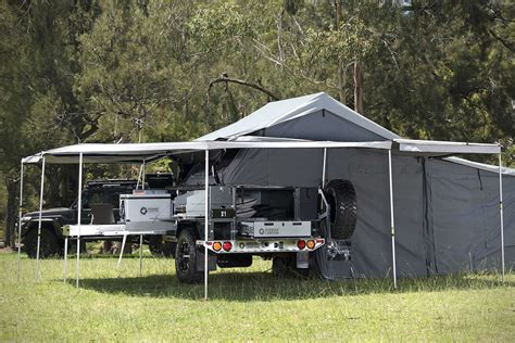 Slideout Awning Patriot Campers X1 Grand Tourer Trailer Hiconsumption
