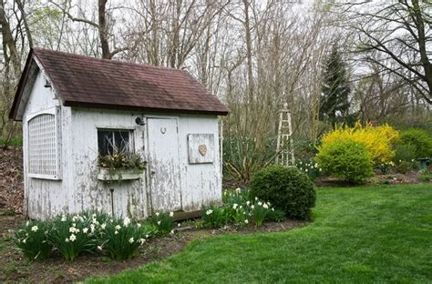 Houzz Garden Sheds by Buck S County Bungalow Shabby Chic Garage And Shed Philadelphia By Left Bank Home