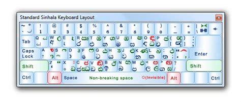 sinhala keyboard layout free download iskoola pota sinhala font free download