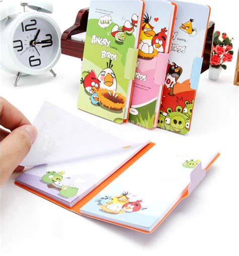 Tipe X Roller Angrybird mini angry birds journal notebook notepad 4 pack