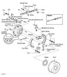 Ford Ranger Brake System Diagram 2000 Ford Ranger Rear Drum Brakes On 2000 Toyota Tacoma