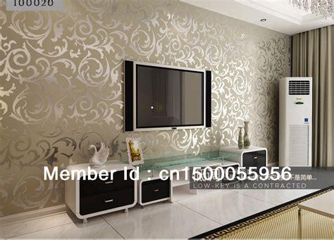 Wood 10 Meter Rol Meter 10 meter tv background silver wallpapera decoration living