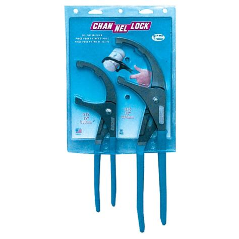 filter pliers set 12 in and 15 in channellock of 1