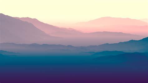 purple horizon landscape  wallpapers hd wallpapers