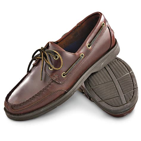 men s rockport 174 boat shoes red brown 139416 boat - Boat Shoes International Shipping
