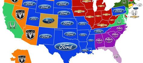 Most Popular Cars In The Us by Most Popular Cars In Arizona And The Usa O Rielly