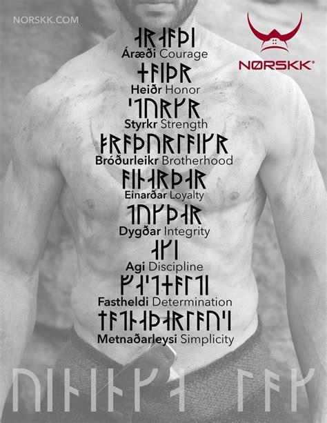 viking tattoo quotes v 237 kinga l 246 g the v 237 kinga code pinteres