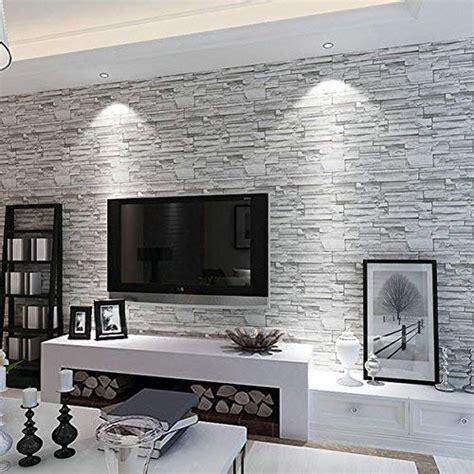 livingroom wallpaper 3d wallpaper for living room amazon com