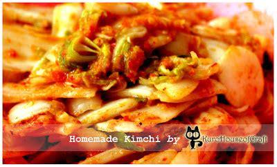kurohouse  craft  membuat kimchi
