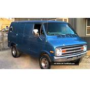 1977 Dodge Custom Van  YouTube