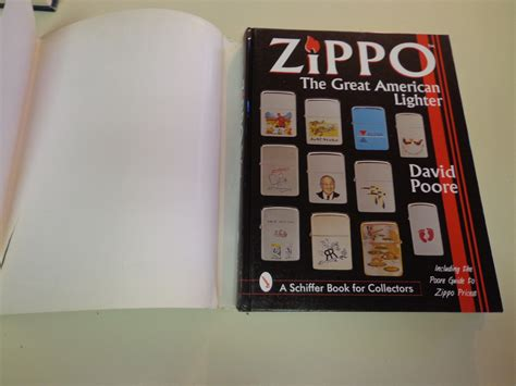 reference books for dsc zippo lighters by david poore hbdj 1997 schiffer reference