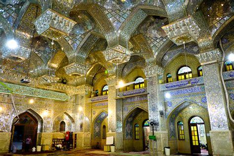Shah Interiors by Iran Shah Cheragh Pics Inside Shia Mosque At Peak
