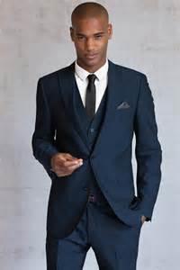 Light Blue Wool Coat Slim Peak Lapel Two Buttons Bespoke Suits