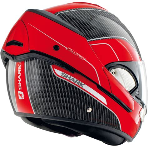 casco shark evoline pro carbon  bl motocard