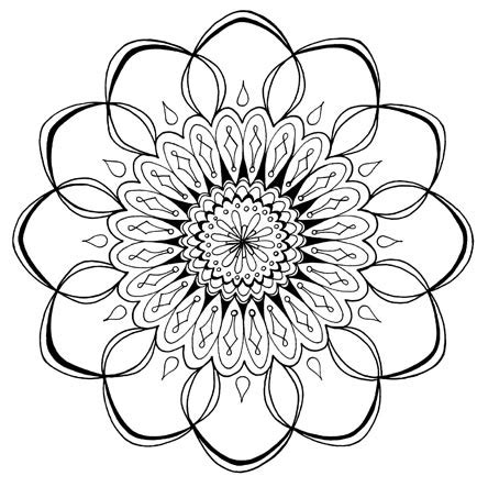 mandala coloring pages art is fun free mandala designs to print get your free printable