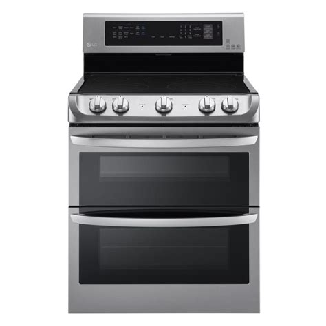 lg electronics 7 3 cu ft oven electric range with