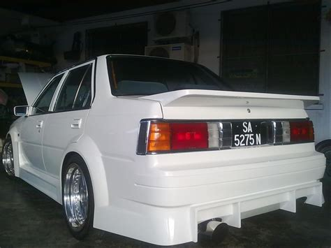 nissan sunny 2005 modified the rice box