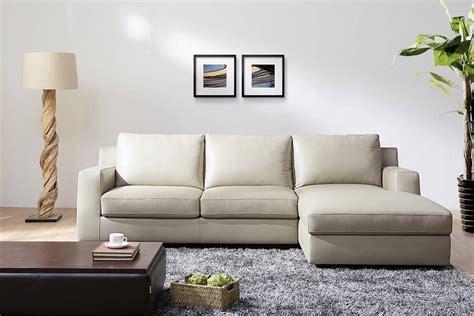 long l shaped sofa refined modern leather l shape sectional santa rosa