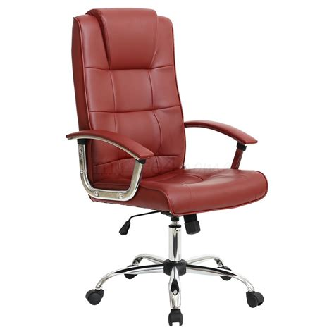 Grande High Back Executive Leather Office Chair Computer Office Chair For High Desk