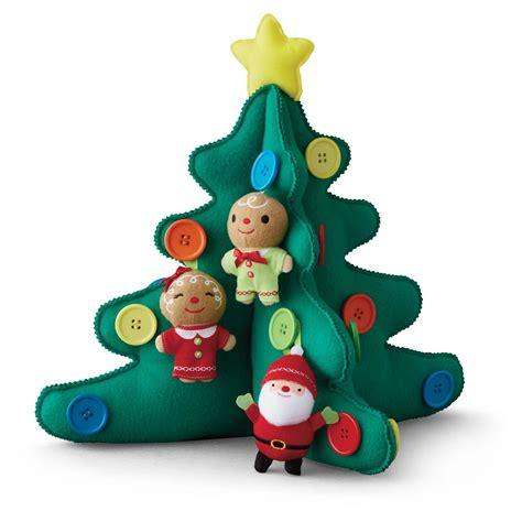 2015 plush christmas tree hallmark keepsake ornament