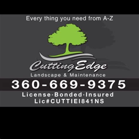cutting edge landscape cutting edge landscape maintenance centralia chehalis