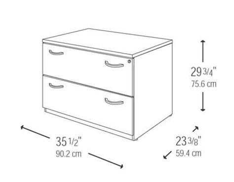 Mocha Cherry Drawer Lateral Wood File Cabinet Home Best