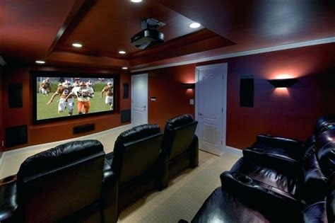 home theater room lighting ideas wall lights elements