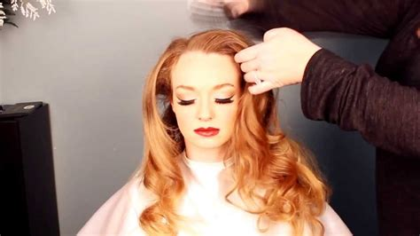 hair and makeup tutorial videos 1940s hair and makeup tutorial old hollywood veronica