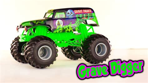 grave digger monster truck song grave digger monster jam monster truck toy for kids