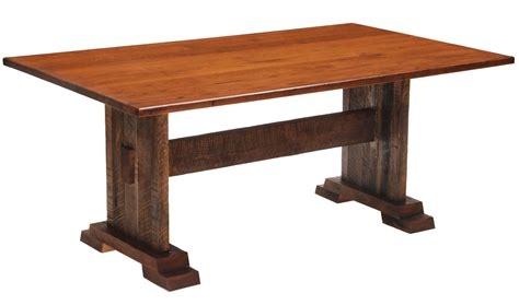 36 Rectangular Dining Table Barnwood Harvest 36 Quot Antique Oak Top Rectangular Dining Table From Fireside Lodge B15115 Ao
