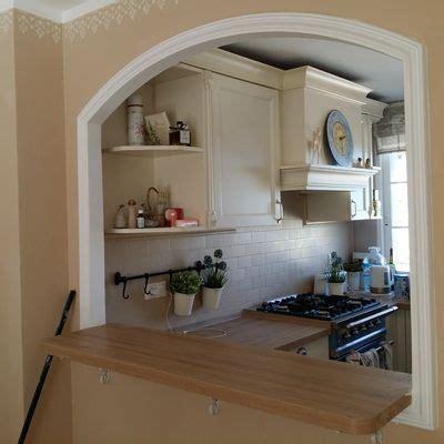 cocina en casa con decoracion arcos para casas buscar con google muebles
