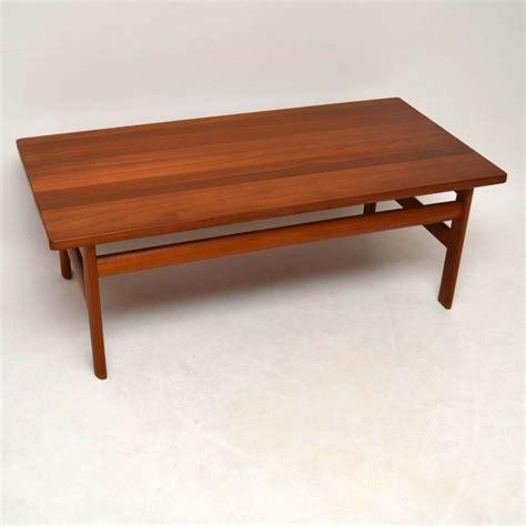 Vintage Retro Coffee Table Solid Teak Retro Coffee Table By Komfort Vintage 1970 S Retrospective Interiors