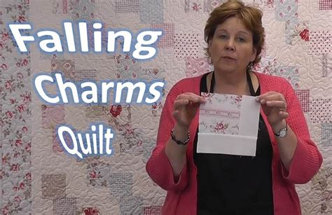 Falling Charms Quilt Tutorial   Quilting With Charm Packs
