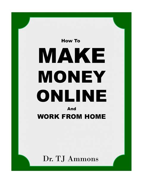 How To Work From Home And Make Money Online - how to make money online and work from home moneyhip prlog