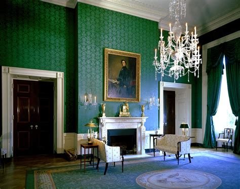 green rooms white house rooms blue green red rooms john f