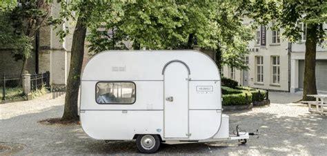 caravan design kortrijk design agency converts caravan into mobile office